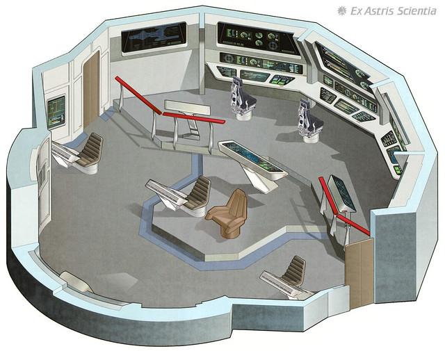 bridge constellation 2593 bridge of the uss hathaway from flickr. Black Bedroom Furniture Sets. Home Design Ideas