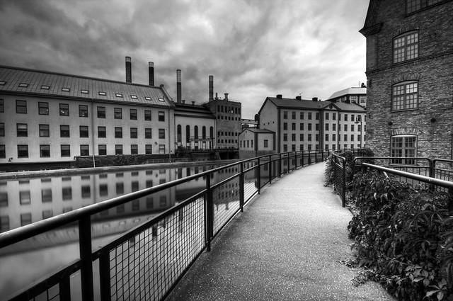 Norrkoping Industrial Landscape