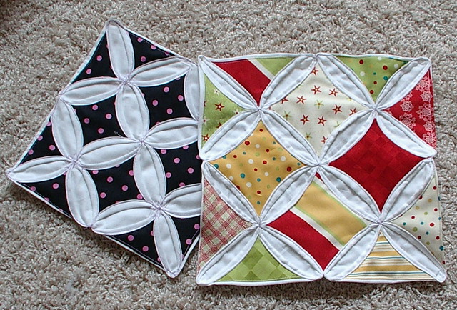 Cathedral Windows Quilt Tutorial Tutorial