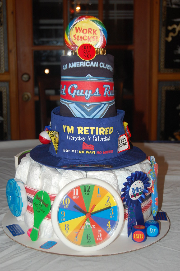 Norms Retirement Adult Diaper Cake Ingredients 20