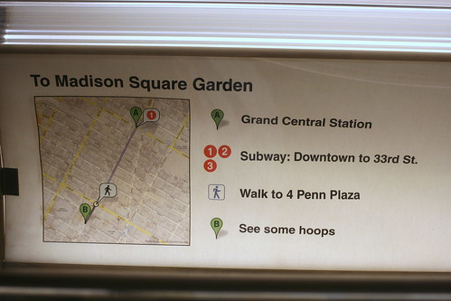 How NOT to get to Madison Square Garden | by Vidiot