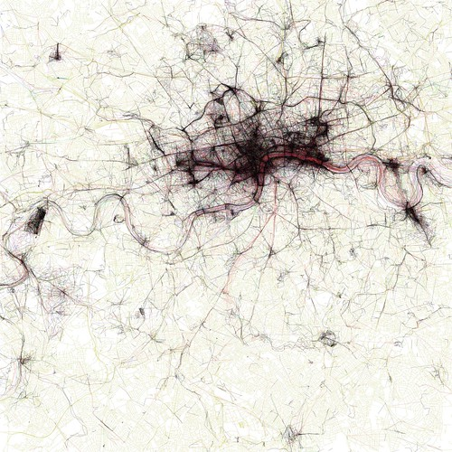 The Geotaggers' World Atlas #2: London | by Eric Fischer