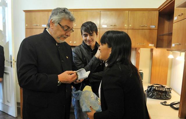 Fernando Lugo Dialoga Con Periodistas En La Sala De Prensa