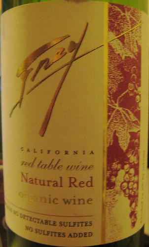 Frey NV Natural Red (front) | by 2 Guys Uncorked