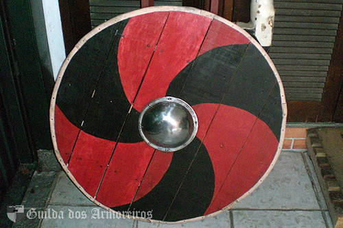 Medieval Shield Wall Painting