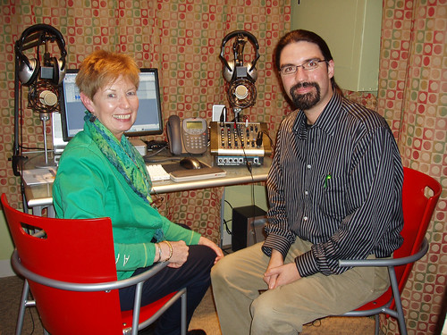 Sarah Long's 100th podcast with Michael Stephens | by North Suburban Library System (NSLS)