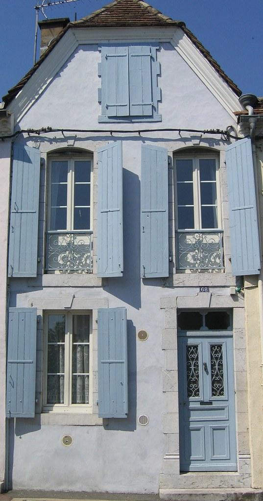 orthez c est une maison bleue fr 233 d 233 rique panassac flickr