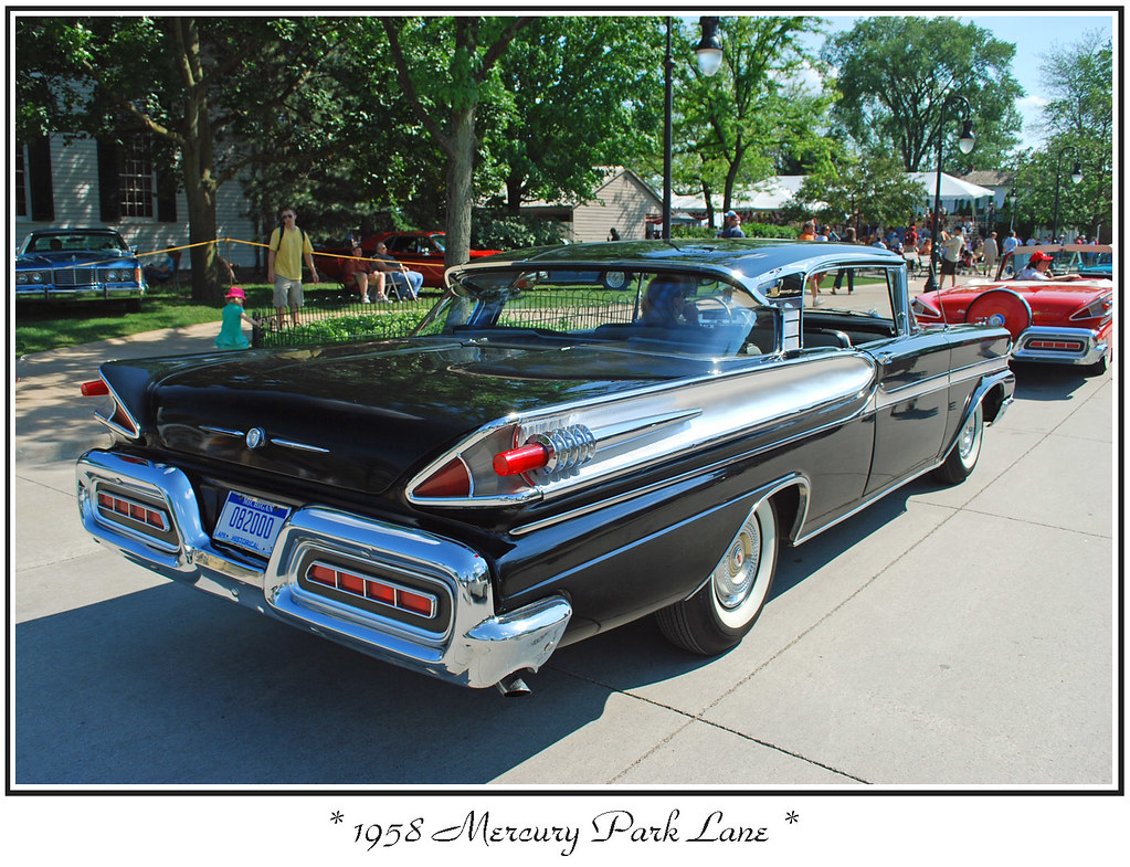 1958 Mercury Park Lane The 2008 Motor Muster At