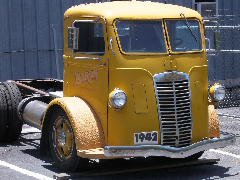 1942 Autocar Truck Austin Tx Offered As A Quot Cab Over