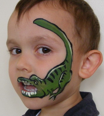 Face Painting Dinosaur Visit Our Website Www