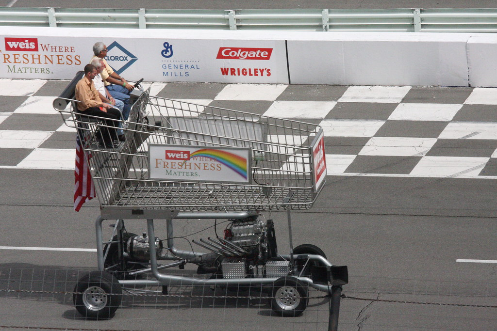 Img 0755 Giant Motorized Grocery Cart Dean Wissing Flickr