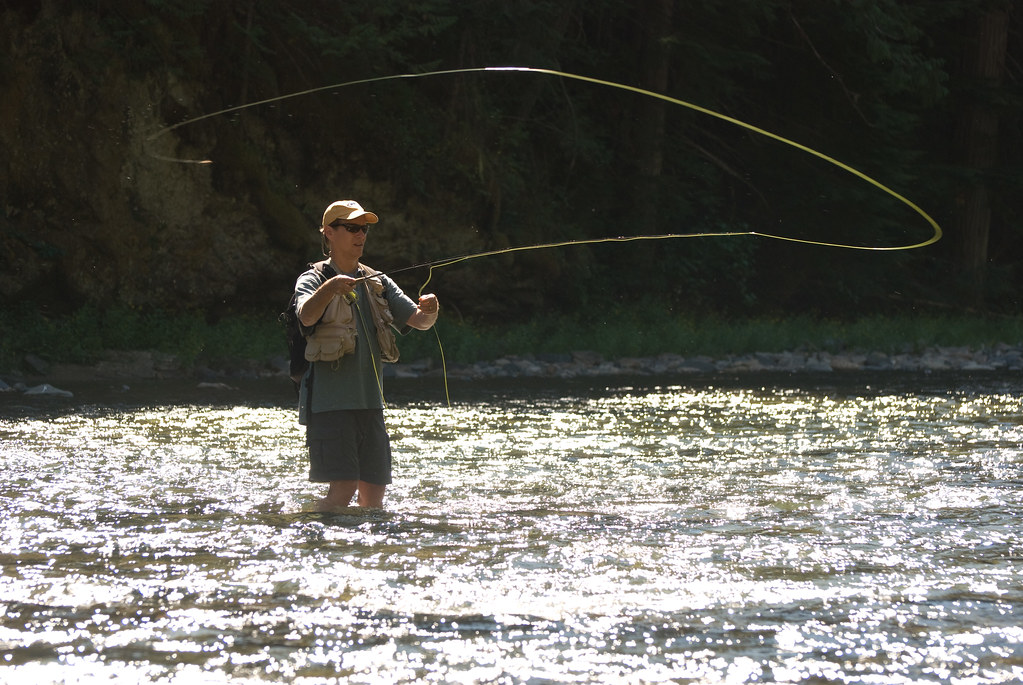 Keith fly fishing on the st joe river idaho scott for St joseph river fishing