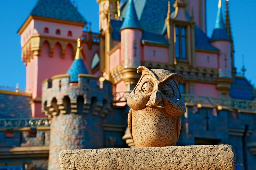 Disney - Archimedes - Sleeping Beauty Castle | Looks Best ...