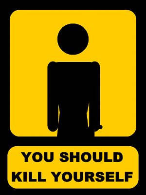 you should kill yourself animated see animated version