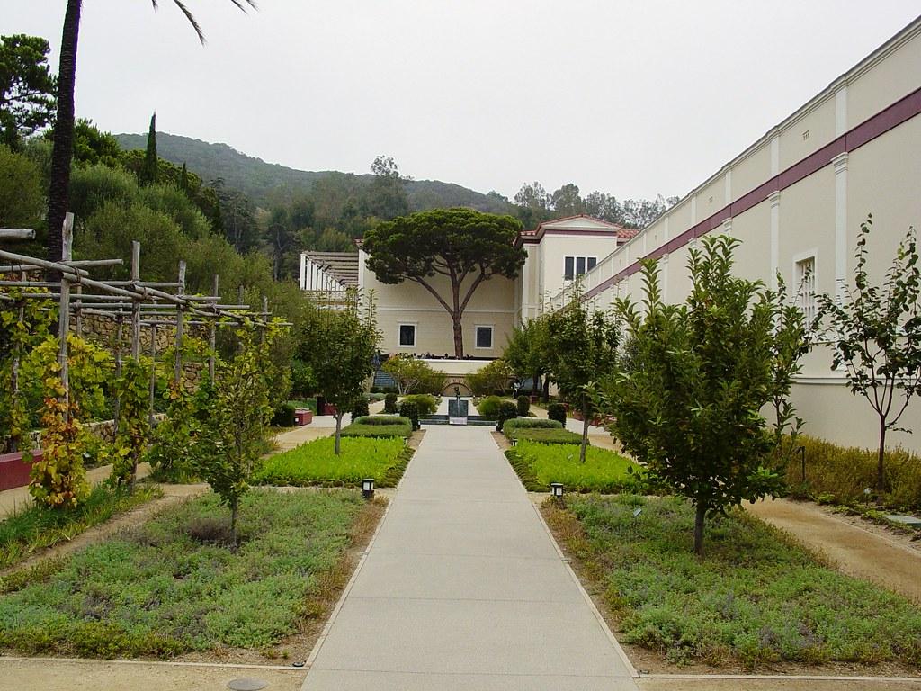 Herb Garden 1 The Getty Villa Malibu California Saimo