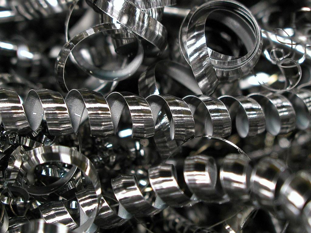 Steel Chips Lathe Dave Carriel Flickr