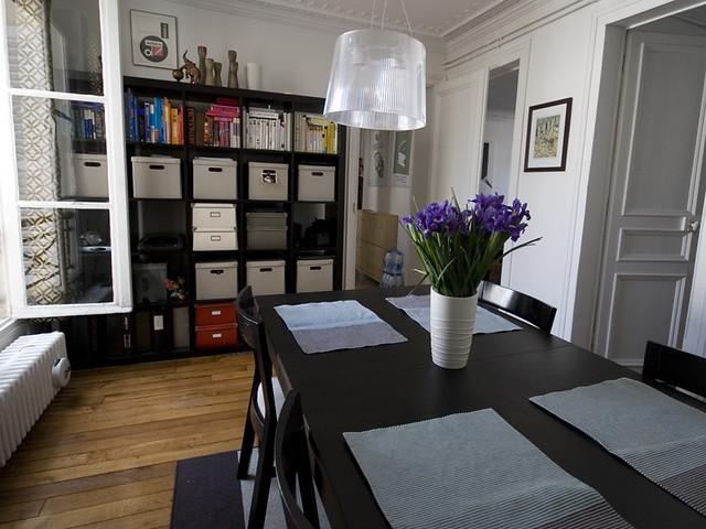 expedit 5x5 bookshelf black brown 50 flickr. Black Bedroom Furniture Sets. Home Design Ideas