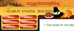 Thanksgiving Theme at SERoundtable.com '08 | by rustybrick