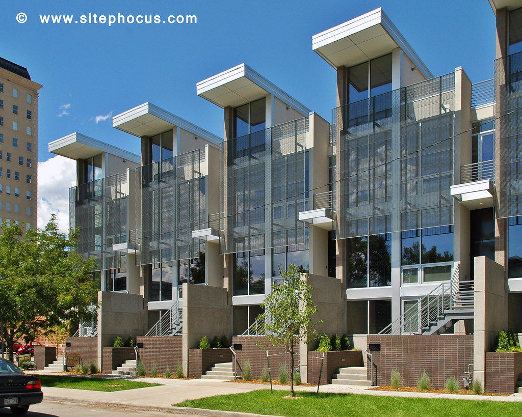 12th Avenue Denver 003 Contemporary Townhomes Near