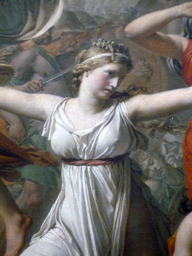 sabine women According to roman mythology, the neighboring sabines were invited to a  festival with the intention of forcibly retaining their young women as wives when  the.
