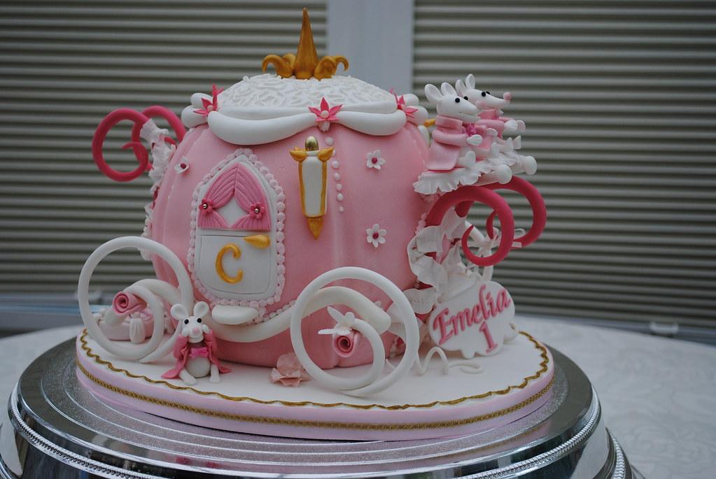 Disney Cinderella Carriage Cake Topper