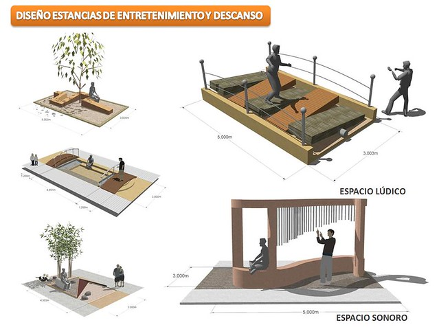 Mobiliario urbano dise o y dibujo de estancias de for Mobiliario de diseno