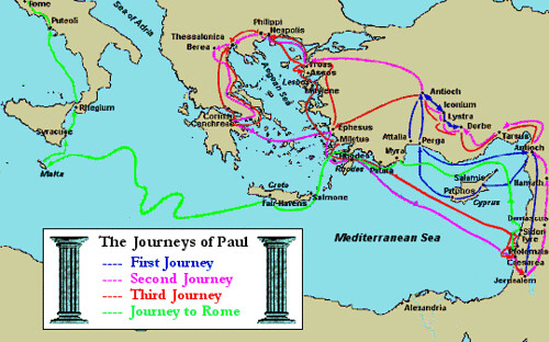 The first missionary journey of paul