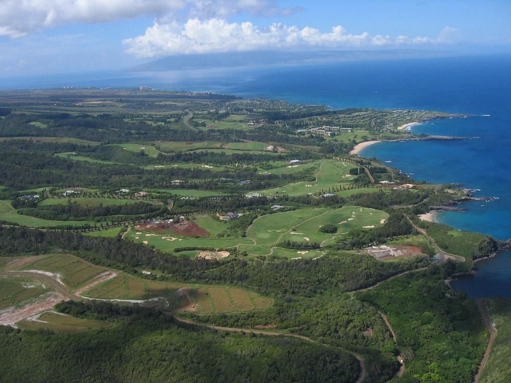 Kapalua Golf Club, Plantation Course, Maui, Hawaiian Islan ...