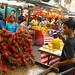 Marché de fruits à KL