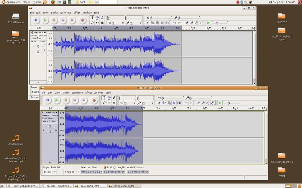 how to move audio tracks audacity