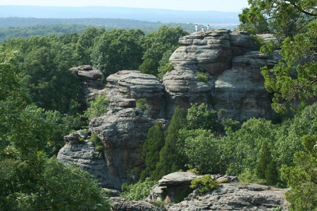 Camel Rock Garden Of The Gods In Shawnee National Forest Flickr