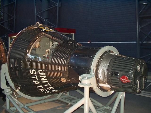 Mercury Capsule 15B Freedom 7 II | Mercury Capsule 15B ...