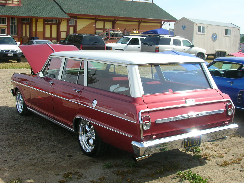 All Chevy 1964 chevy ii : 1964 Chevrolet Chevy II Nova Station Wagon (Custom) 'EYL 3… | Flickr