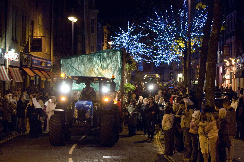 Christ Is Christmas >> Wind street during the Swansea Christmas Parade | The Christ… | Flickr