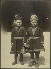[Lapland children, possibly from Sweden.] | by New York Public Library