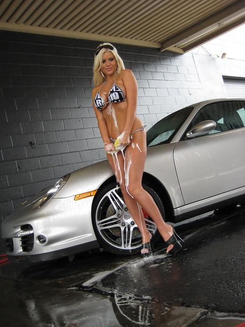 Brooke Banx Bikini Car Wash 66