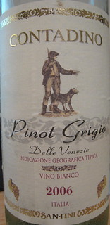 Contadino 2006 Pinot Grigio (front) | by 2 Guys Uncorked