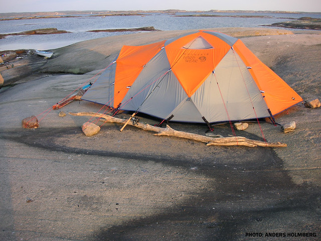 ... Mountain Hardwear tent pitched on a rocky plateau West Coast Sweden -- Anders & Mountain Hardwear tent pitched on a rocky plateau West Cou2026 | Flickr