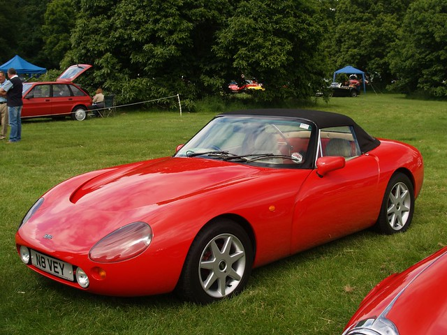 tvr griffith sports cars 1995 tvr griffith sports cars flickr. Black Bedroom Furniture Sets. Home Design Ideas