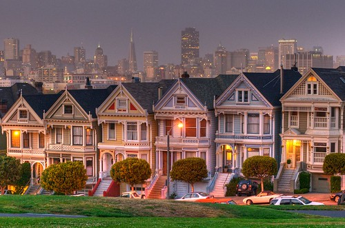 Famous San Francisco Painted Lady