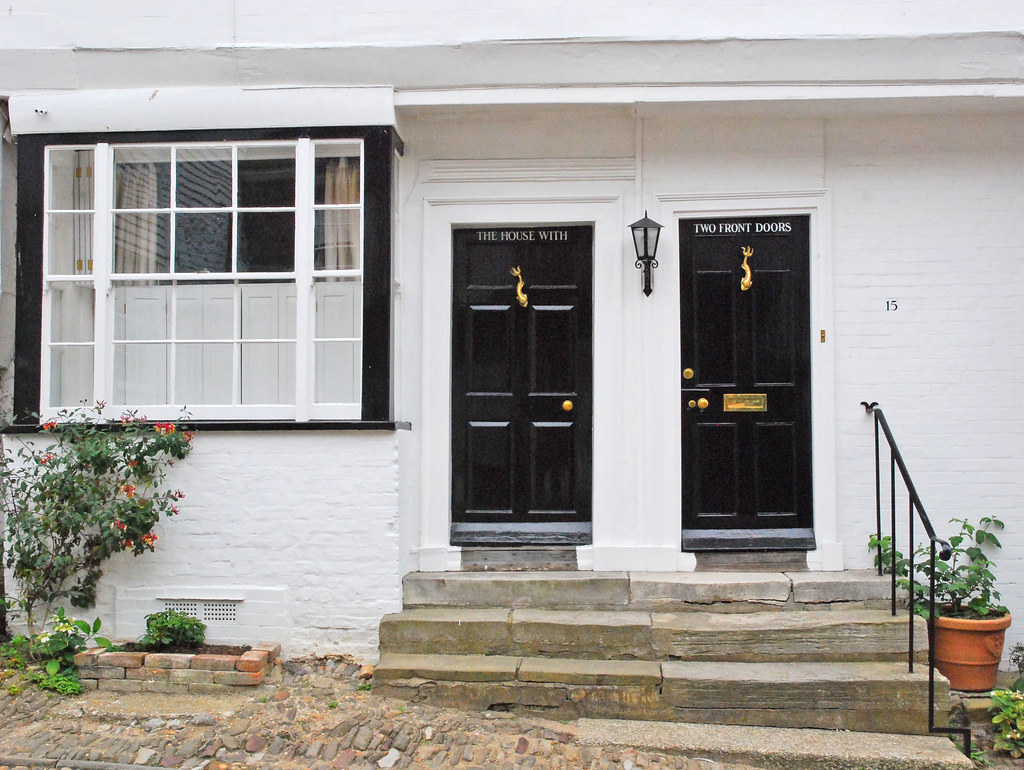 The House With Two Front Doors Rye Sussex UK