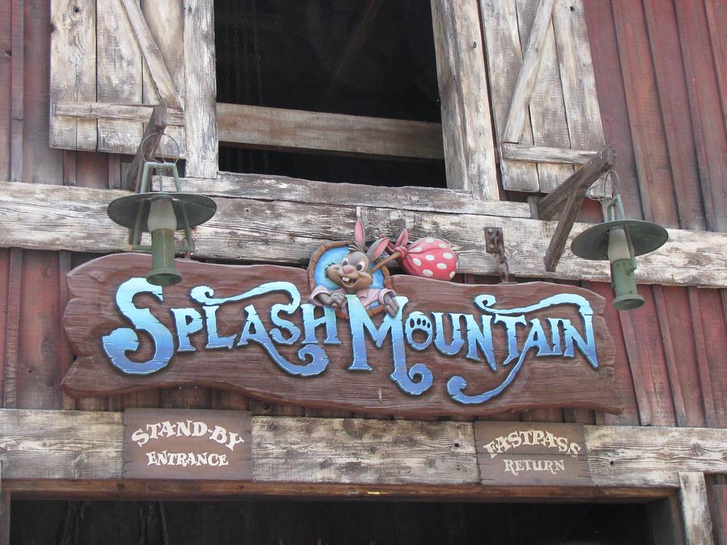 Splash Mountain Sign (IMG_0493) | The Splash Mountain sign ...