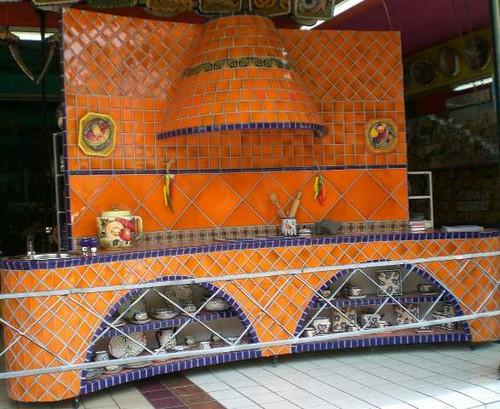 Mundo de azulejos orange kitchen mundo de azulejos - Azulejos zapata ...