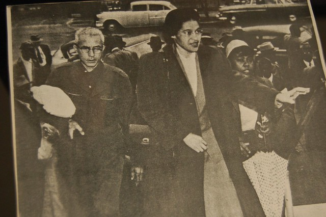 Rosa Parks and her significance to the Civil Rights movement.