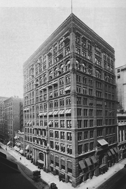 Home insurance building 1885 1890 chicago erbaut for New home construction insurance