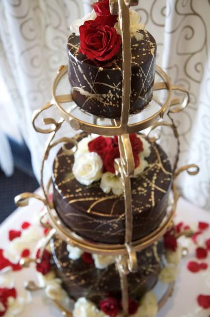 Chocolate Splatter Cake