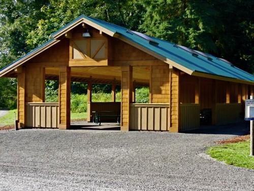 Bridge Shelter At Tolt Macdonald Park King County Parks