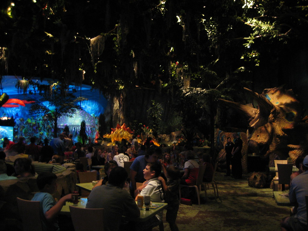 Rainforest Cafe Opening Times