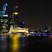 Singapore city on night