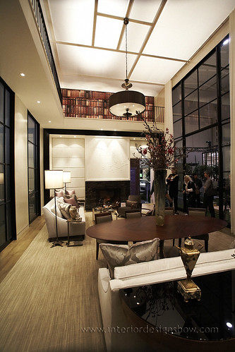 Brian gluckstein 39 s glass house flickr photo sharing for Show home interior design jobs